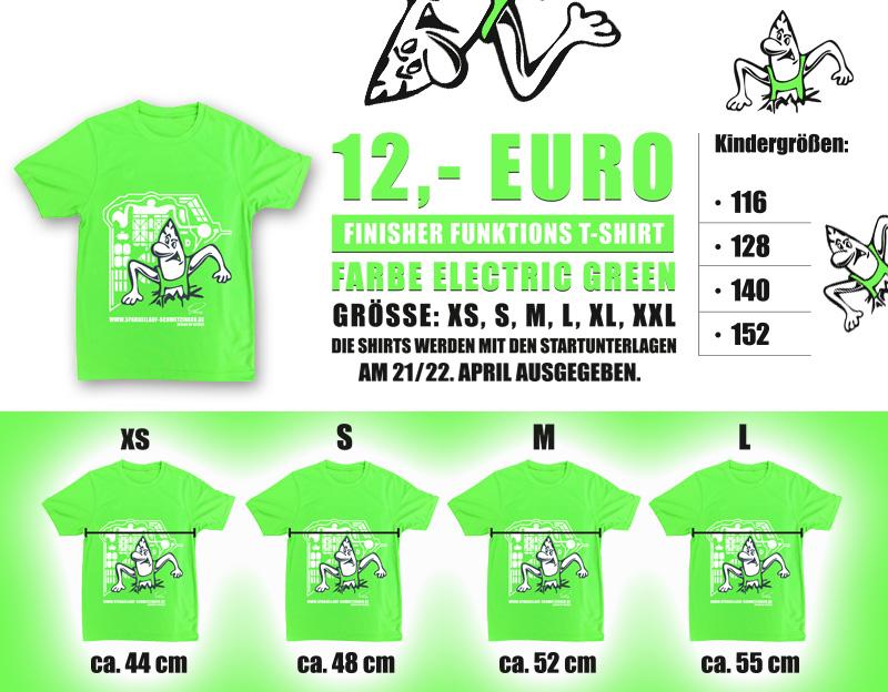 Spargellauf-Shirt